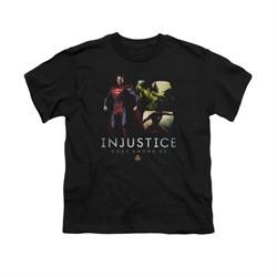 Injustice Gods Among Us Shirt Kids Supermans Revenge Black T-Shirt