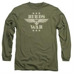 It's Always Sunny In Philadelphia Long Sleeve Shirt Birds Of War Green Tee T-Shirt