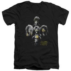 It's Always Sunny In Philadelphia Slim Fit V-Neck Shirt Rocker Heads Black T-Shirt