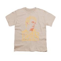 James Dean Shirt Kids Word Head Cream T-Shirt