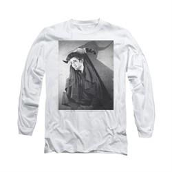 James Dean Shirt Matador Long Sleeve White Tee T-Shirt