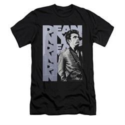 James Dean Shirt Slim Fit NYC Black T-Shirt