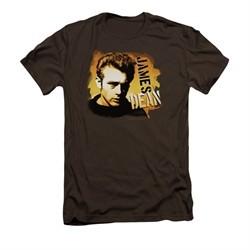 James Dean Shirt Slim Fit Serious Coffee T-Shirt