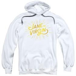 Jane The Virgin Hoodie Golden Logo White Sweatshirt Hoody