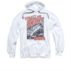 Jaws Hoodie Block Chum White Sweatshirt Hoody