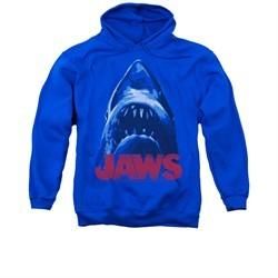 Jaws Hoodie From Below Royal Blue Sweatshirt Hoody