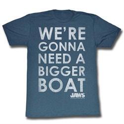 Jaws Shirt A Bigger Boat Slate T-Shirt