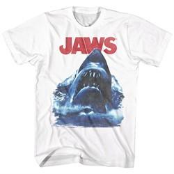 Jaws Shirt Bad Waves White T-Shirt