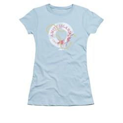 Jaws Shirt Juniors Life Preserver Light Blue T-Shirt