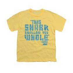 Jaws Shirt Kids Swallow You Whole Banana T-Shirt
