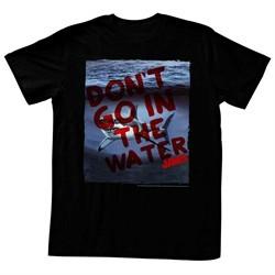 Jaws Shirt Shark Under The Water Black T-Shirt