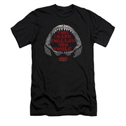 Jaws Shirt Slim Fit This Shark Black T-Shirt