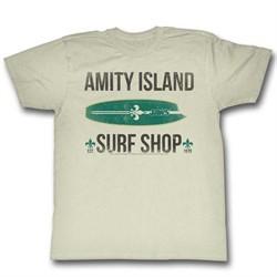 Jaws Shirt Surf Shop Cream T-Shirt
