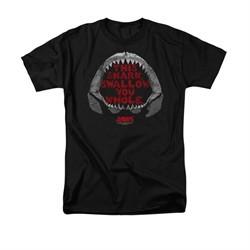 Jaws Shirt This Shark Black T-Shirt