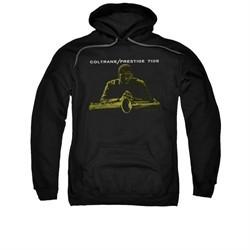 John Coltrane Hoodie Prestige 7105 Black Sweatshirt Hoody