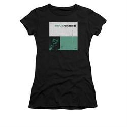 John Coltrane Shirt Juniors Soultrane Black T-Shirt