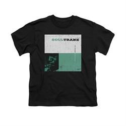 John Coltrane Shirt Kids Soultrane Black T-Shirt