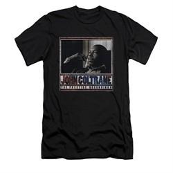 John Coltrane Shirt Slim Fit Prestige Recordings Black T-Shirt