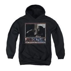 John Coltrane Youth Hoodie Prestige Recordings Black Kids Hoody