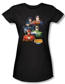 Justice League Superheroes Group Portrait