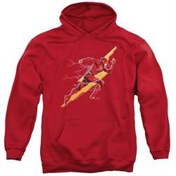 Justice League Movie Hoodie Flash Forward Red Sweatshirt Hoody