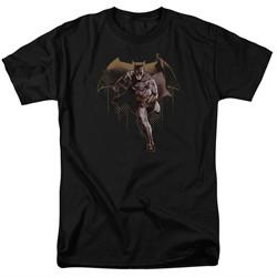 Justice League Movie Shirt Caped Crusader Black T-Shirt