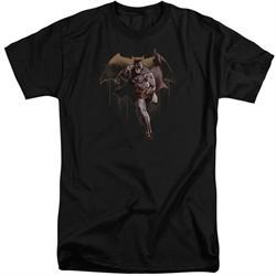 Justice League Movie Shirt Caped Crusader Black Tall T-Shirt