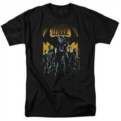 Justice League Movie Shirt Stand Up To Evil Black T-Shirt