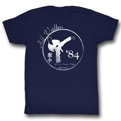Karate Kid Shirt 84 All Valley Adult Navy Tee T-Shirt