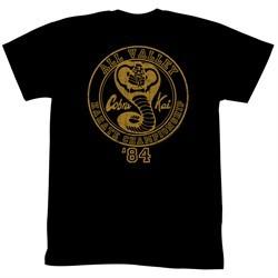 Karate Kid Shirt 84 Championship Adult Black Tee T-Shirt