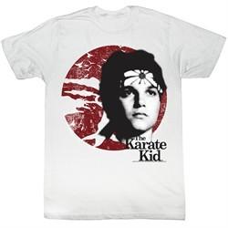 Karate Kid Shirt Daniel Son Adult White Tee T-Shirt