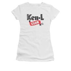 Ken L Ration Shirt Juniors Club Logo White T-Shirt
