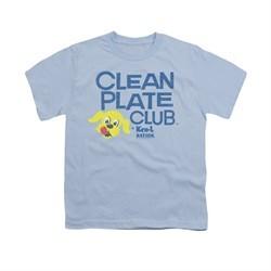 Ken L Ration Shirt Kids Clean Plate Light Blue T-Shirt