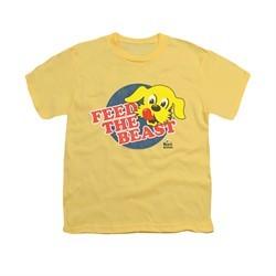 Ken L Ration Shirt Kids Feed The Beast Banana T-Shirt