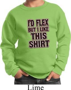 Kids Fitness Sweatshirt Id Flex Sweat Shirt