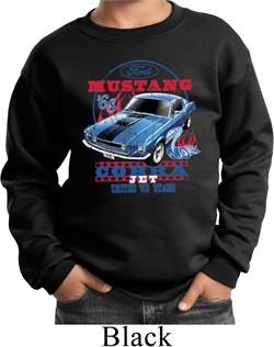 Kids Ford Sweatshirt 1968 Cobra Jet Sweat Shirt