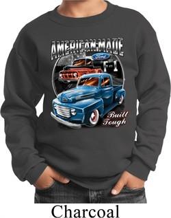 Kids Ford Sweatshirt American Made Sweat Shirt