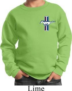 Kids Ford Sweatshirt The Legend Lives Crest Sweat Shirt