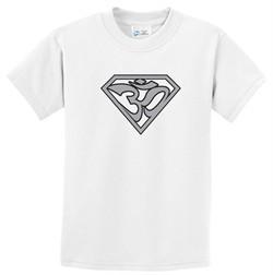 Kids Yoga Shirt Super OM T-Shirt