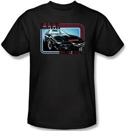 Knight Rider Kids T-shirt Kitt Classic Youth Black Tee Shirt