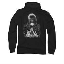 Labyrinth Hoodie Sweatshirt Castle Black Adult Hoody Sweat Shirt