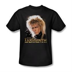 Labyrinth Shirt Jareth Adult Black Tee T-Shirt