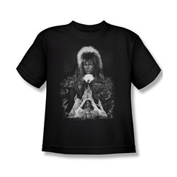 Labyrinth Shirt Kids Castle Black Youth Tee T-Shirt