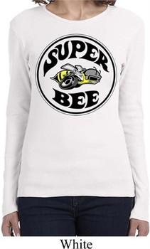 Ladies Dodge Shirt Super Bee Long Sleeve Tee T-Shirt