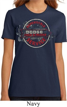 Ladies Dodge Shirt Vintage Dodge Sign Organic Tee T-Shirt