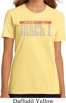 Ladies Ford Shirt 50 Years Mach 1 Organic Tee T-Shirt