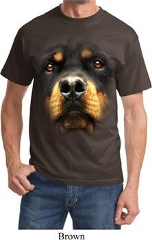 Ladies Shirt Big Pit Bull Face Tri Blend Hoodie Tee T-Shirt