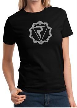 Ladies Yoga Shirt Manipura Chakra Meditation T-shirt