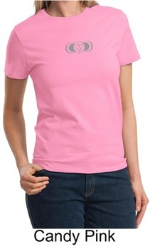 Ladies Yoga T-shirt ? AJNA Third Eye Chakra Sign Tee Shirt