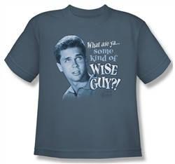 Leave it to Beaver Shirt Kids Wise Guy Slate Youth Tee T-Shirt